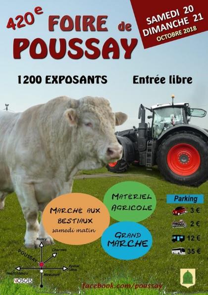 Poussay 2018
