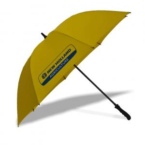 Parapluie jaune New-Holland