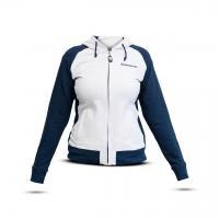 0002593 sweatshirt woman whiteblue
