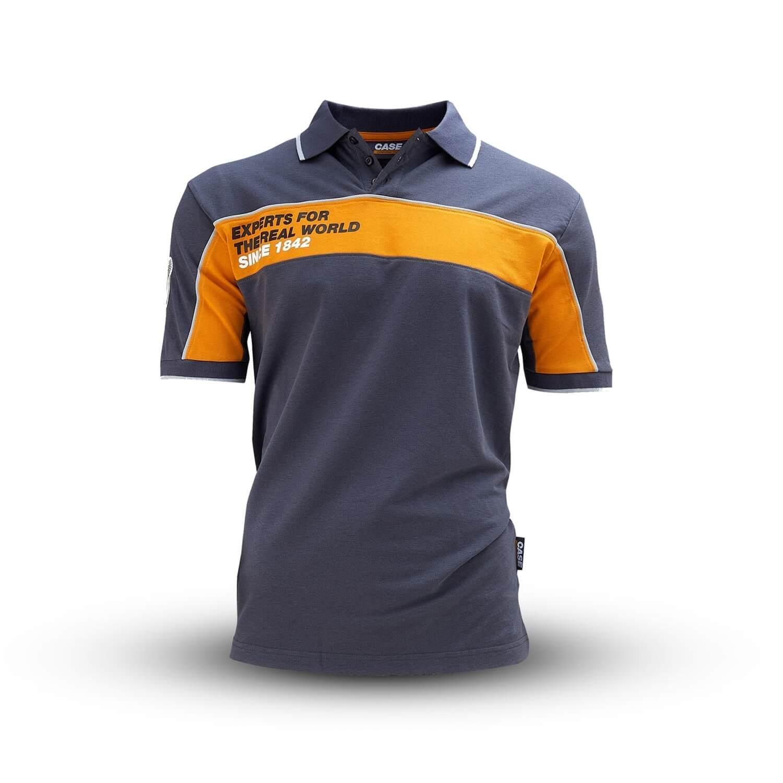 0002937 contrast polo shirt