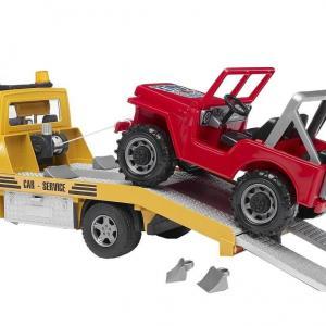 Camion de dépannage avec Jeep