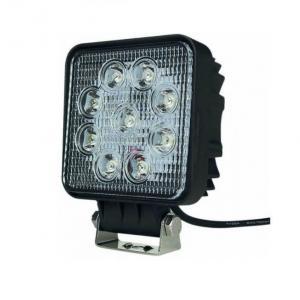 Phare de travail carré 9 LED 1800 Lum