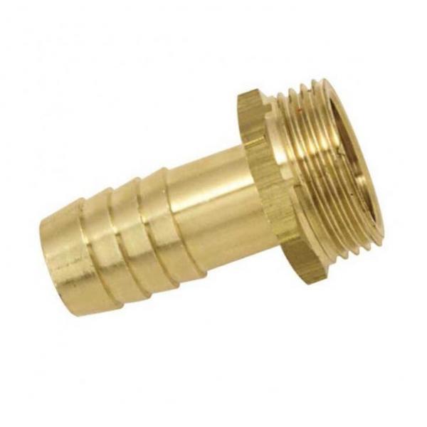 Embout mâle laiton pour tuyau 19 mm