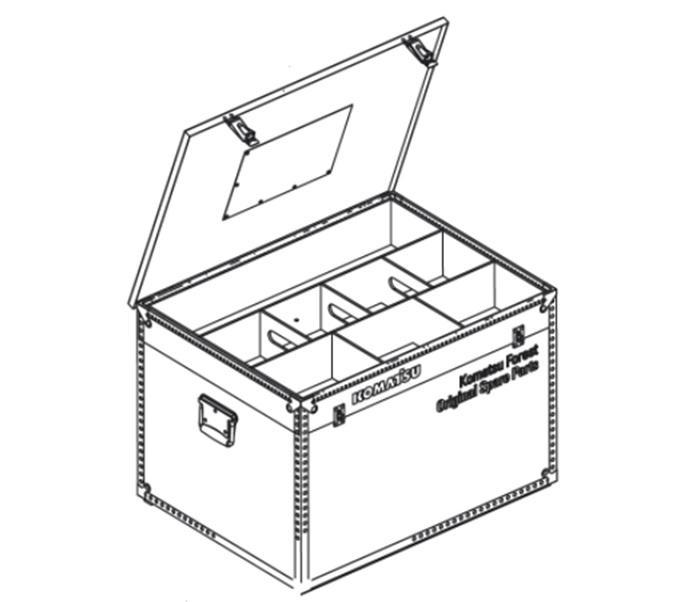 Caisse de rangement komatsu1