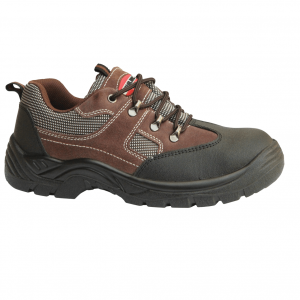 Chaussure de sécurité basse marron