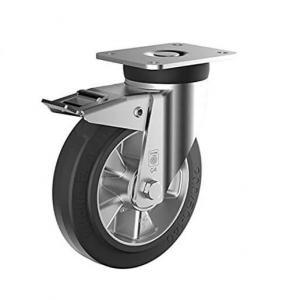 Roulette pivotante frein Ø200