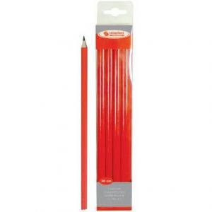 Crayon de charpentier (rouge 3Ocm) (pièce)